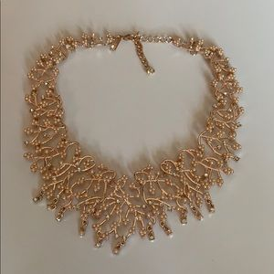 Inc Collar Necklace - Rose Gold